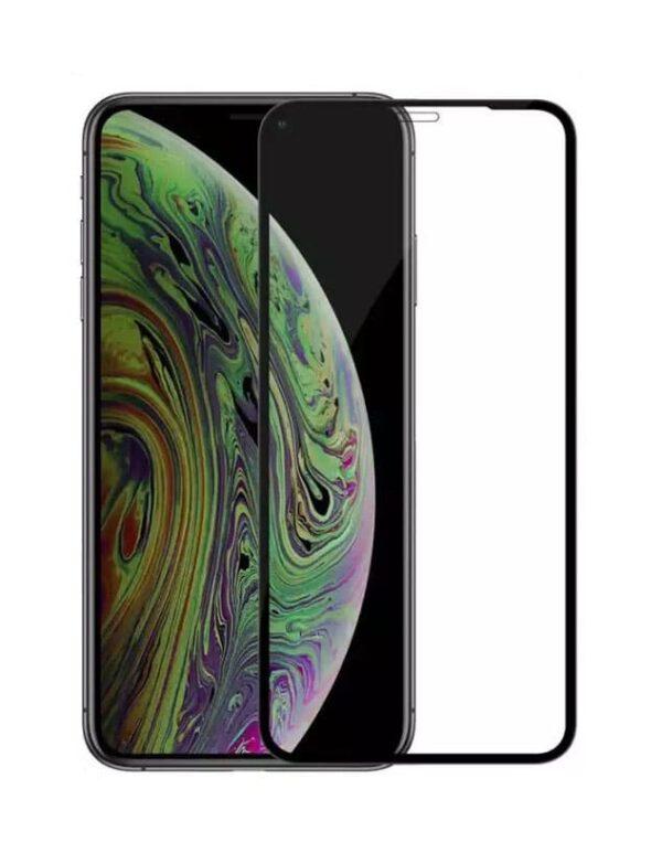 Panzerglas für das iPhone 11 von FlightLife in Schwarz