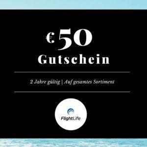 Gutschein EUR 50 flightlife Black Dots Gift Voucher