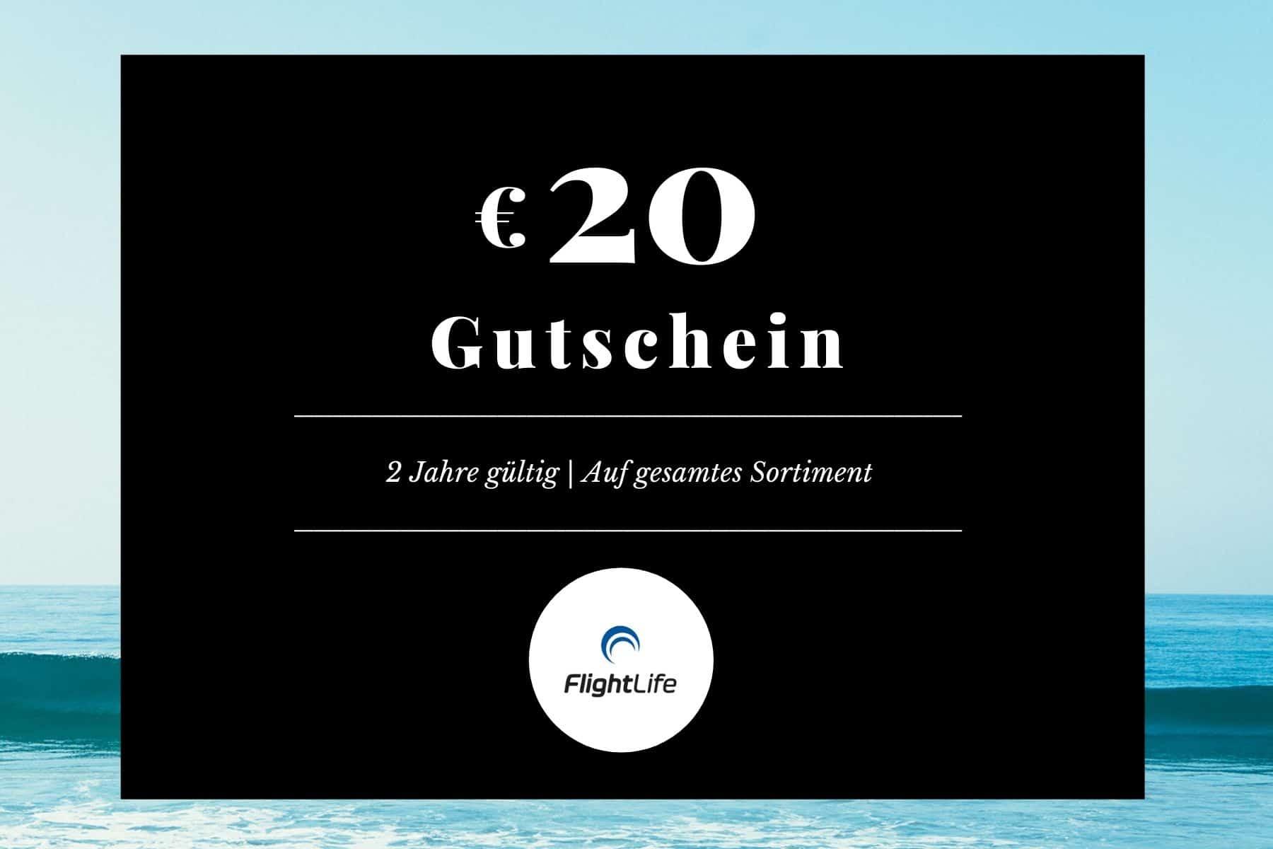 20 Euro FlightLife Gutschein